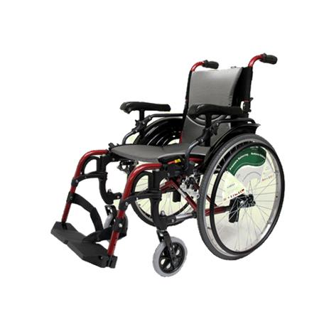 Karman Healthcare Ultralight Adjustable Ergonomic S-305Q Manual Wheelchair