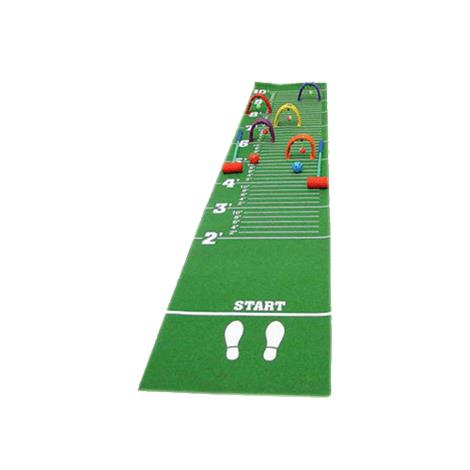 Yellowtails Long Jump Croquet Mat Game