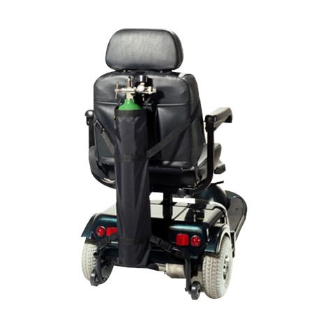 EZ-Access Scooter Single Oxygen D and E Cylinder Carrier
