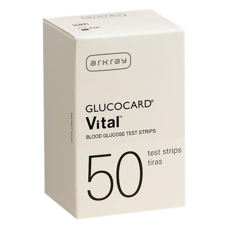 Arkary USA Glucocard Vital Test Strips