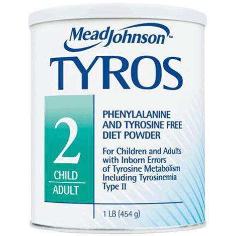 Mead Johnson Tyros 2 Phenylalanine and Tyrosine-Free Powder Medical Food