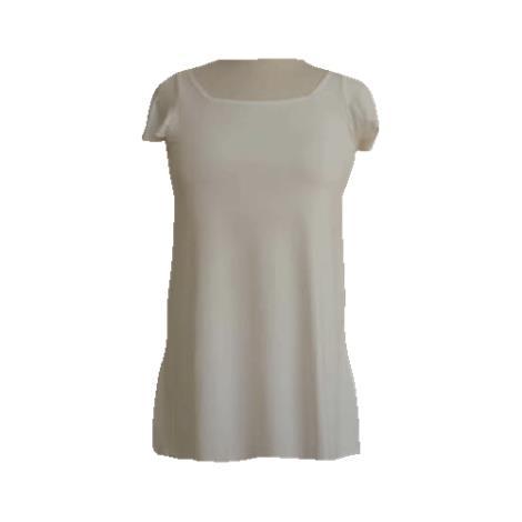 LuisaLuisa Hip Long Tank Top With Sleeves