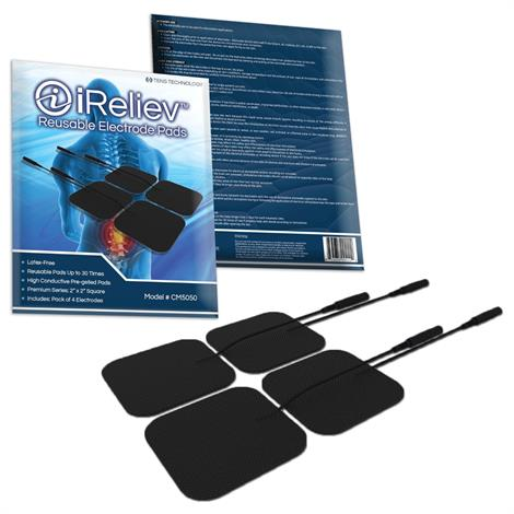 iReliev Reusable Electrode Pads for OTC Tens Device