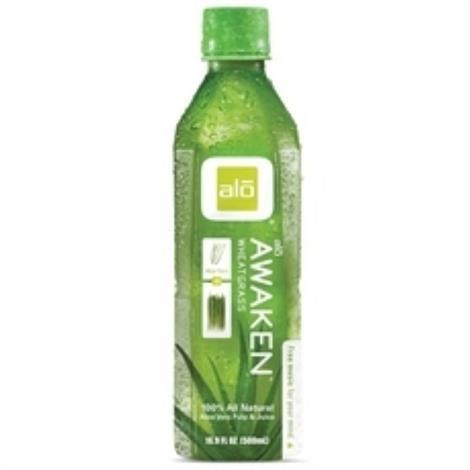 Alo Wheatgrass Awaken Juice