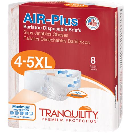 Buy Tranquility Bariatric Air-Plus Disposable Brief