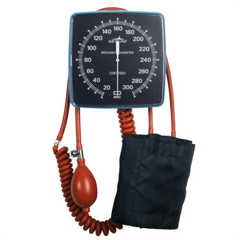 Medline Wall-Mount Aneroid Sphygmomanometer with Adult Cuff
