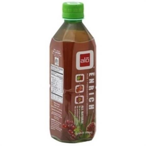 ALO Enrich Aloe Vera Pomegranate Cranberry Juice