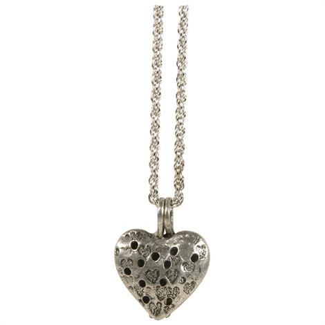 Frontier Heart Pendant Necklace Diffuser