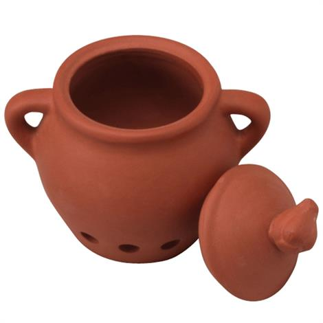 Frontier Terra Cotta Garlic Keeper