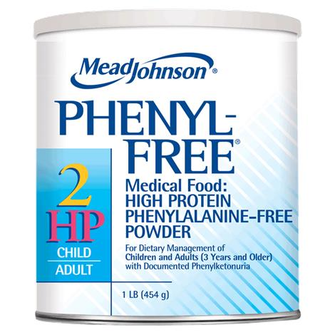Mead Johnson Phenyl-Free 2 HP Phenylalanine-Free Powder Medical Food for Children and Adults