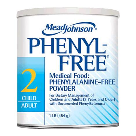 Mead Johnson Phenyl-Free 2 Phenylalanine-Free Powder Medical Food for Children and Adults