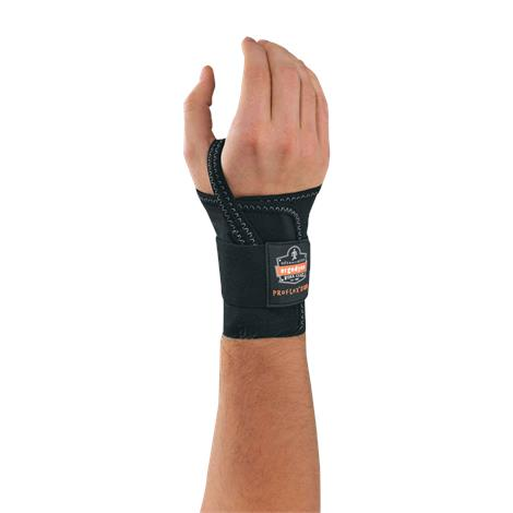 Buy Ergodyne ProFlex 4000 Black Single Strap Wrist Splints