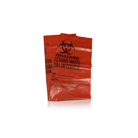 Safetec Red Biohazard Waste Disposal Bags