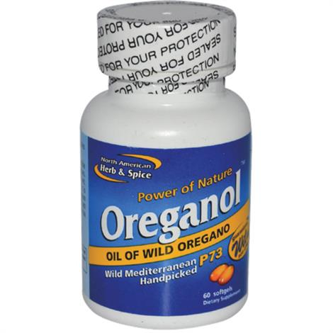 North American Herb And Spice Oreganol Gelcaps