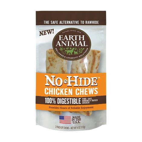 Earth Animal No Hide Chicken Chews Dog Treats