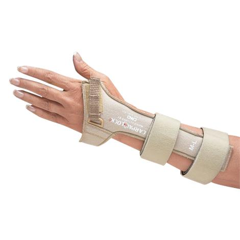 Carpal Lock Soft Cotton Suede Wrist Splint