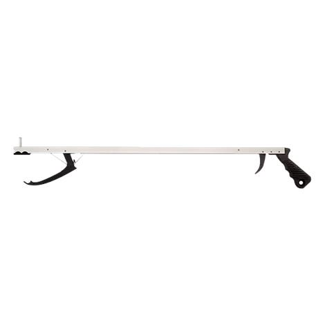 Essential Medical Aluminum Reacher with Trigger Activated Jaw