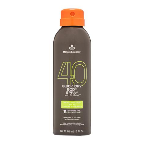 MDSolarSciences Quick Dry Body Spray With SPF 40