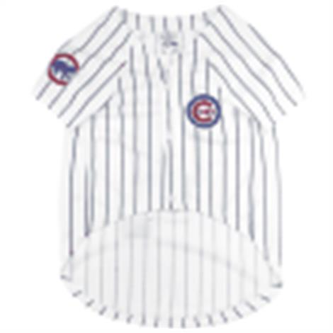 huge discount 1ecc1 f5cc4 Pets First Chicago Cubs Baseball Dog Jersey