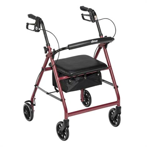 Buy Drive Aluminum Rollator with Fold Up and Removable Back Support