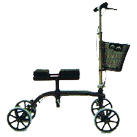 Rose Healthcare Deluxe Mobile Knee Scooter With Basket