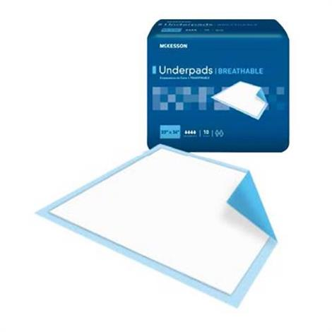 Mckesson Ultra Fluff Heavy Absorbency Breathable Underpad
