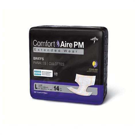 Medline ComfortAire PM Extended Wear Briefs