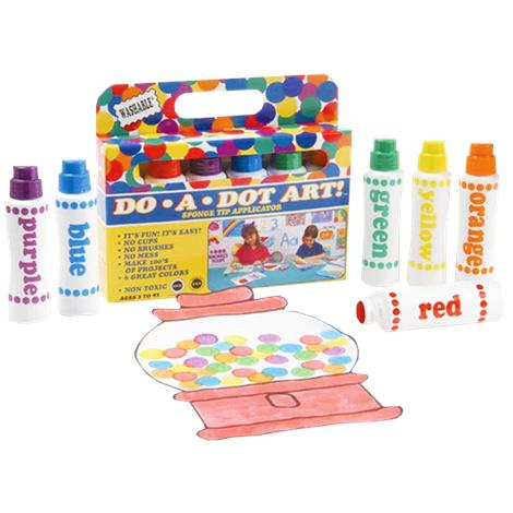 Playability DO-A-DOT Markers With Braille Color Identifiers