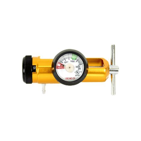 Gentec Medical Click Style Air Regulator with Hose Barb Outlet
