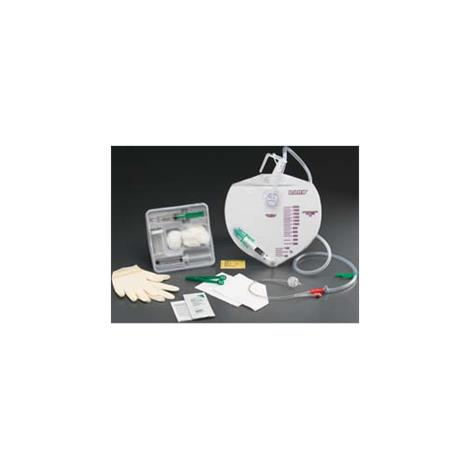 Bard Lubricath Drainage Bag Three-Way Foley Tray with Anti-Reflux Chamber