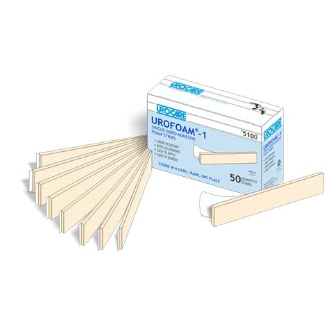 Urocare Urofoam Adhesive Foam Strips