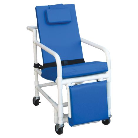 MJM International Three-Position Recline Geri Transport Chair