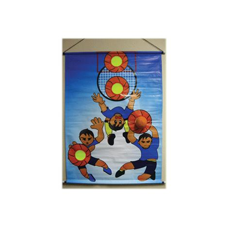 Yellowtails Basketball Toss Game Set