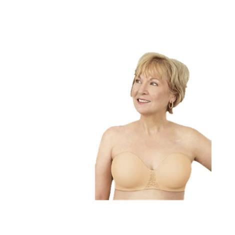 ABC Seamless Strapless Mastectomy Bra Style 112