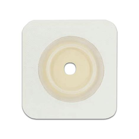 Genairex Securi-T Two-Piece Flat Standard Cut-To-Fit White Solid Hydrocolloid Skin Barrier