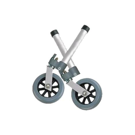 Buy Drive Five Inch Swivel Wheel with Lock and Two Sets of Rear Glides