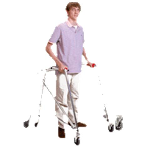 Kaye Posture Control Four Wheel Walker With Front Swivel And Silent Rear Wheel For Small Children