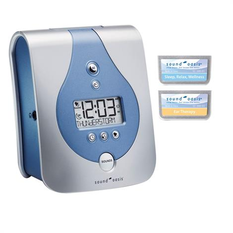 Sound Oasis Sleep Sound Therapy System With Two Sound Card