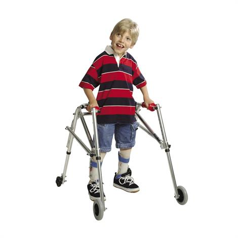 Kaye Wide Posture Control Four Wheel Walker For Youth