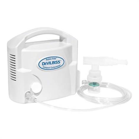 DeVilbiss Pulmo-Aide Compact Compressor Nebulizer System 3655D