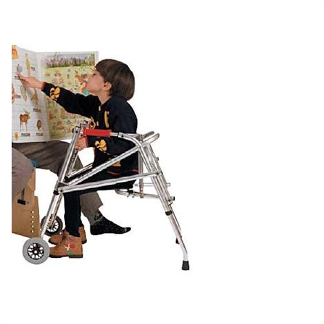 Kaye PostureRest Two Wheel Walker With Seat For Children