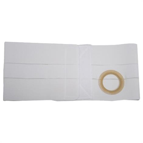 Nu-Hope Nu-Form 8 Inches Wide Left Sided Stoma Regular Elastic Support Belt With Prolapse Strap