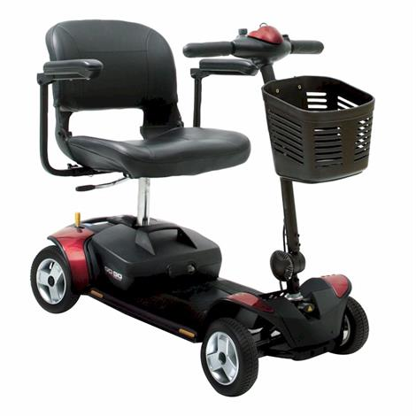Pride Go-Go Elite Four Wheel Traveller Scooter