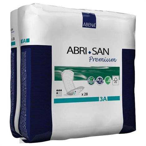 Abena Abri-San Premium Incontinence Pads - Light To Moderate Absorbency