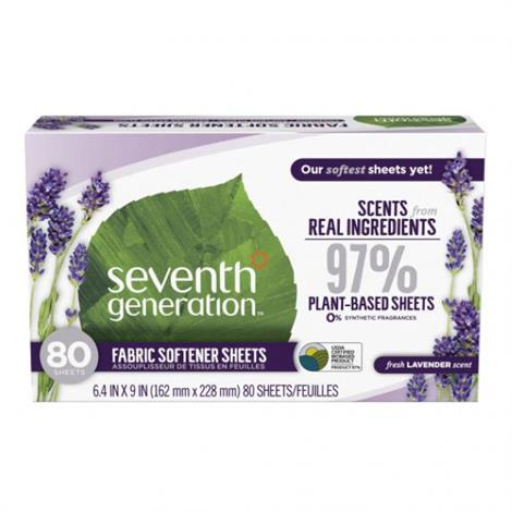 Buy Seventh Generation Natural Fabric Softener Sheets