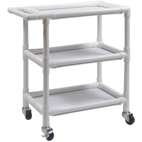 Graham-Field PVC Three Shelf Utility Cart