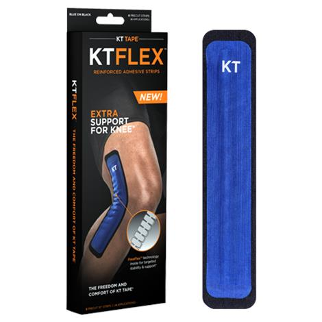 KT Flex Reinforced Adhesive Strips For Targeted Knee Support