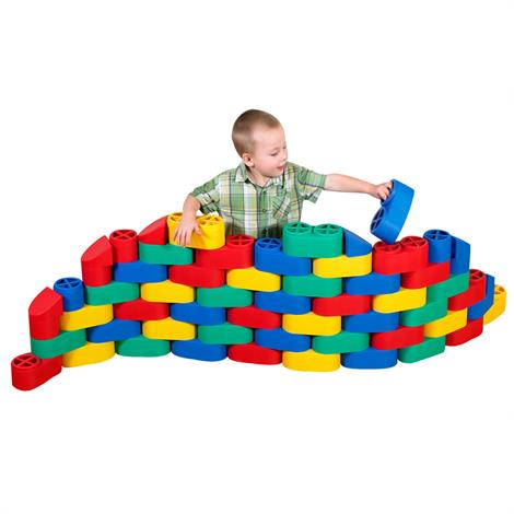 Childrens Factory Snap Blocs Set