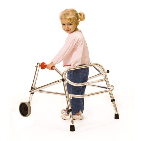 Kaye Wide Posture Control Two Wheel Walker For Pre Adolescent