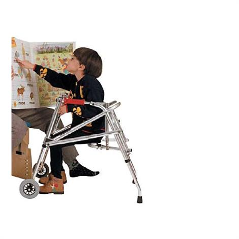 Kaye PostureRest Two Wheel Walker With Seat For Adolescent